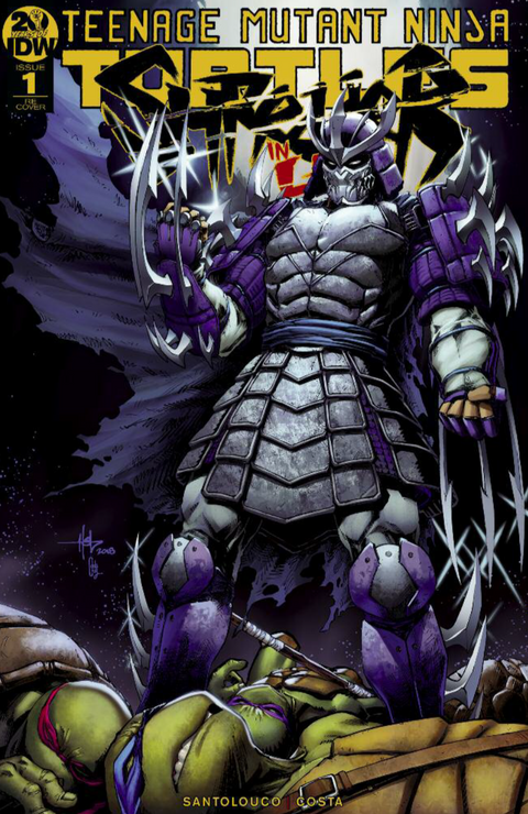 TMNT: SHREDDER IN HELL #1 CREEES ART VARIANT