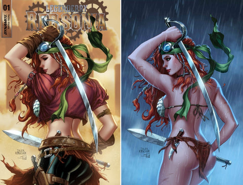 LEGENDERRY RED SONJA #1 (OF 5) TYLER KIRKHAM VARIANT