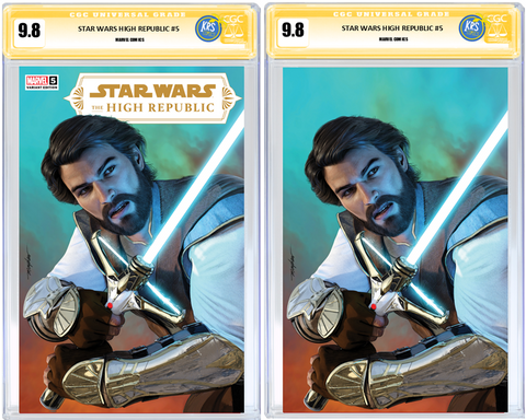 STAR WARS HIGH REPUBLIC #5 MIKE MAYHEW VARIANT CGC SIG SERIES OPTIONS