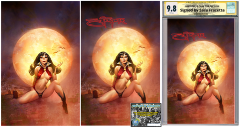 VAMPIRELLA TRIAL OF THE SOUL ONE SHOT SARA FRAZETTA VARIANT OPTIONS