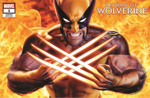 RETURN OF WOLVERINE #1 (OF 5) MIKE MAYHEW VARIANT