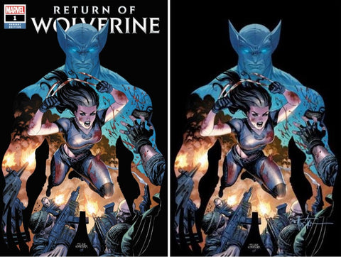 RETURN OF WOLVERINE #1 (OF 5) TYLER KIRKHAM VARIANTS