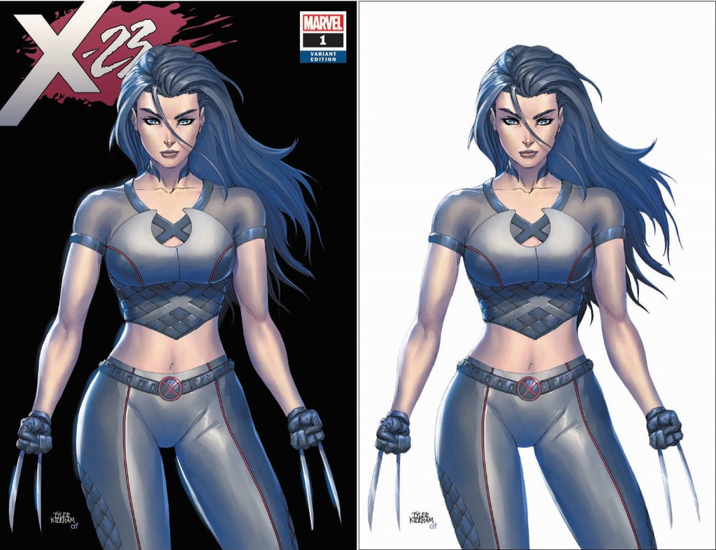 X-23 #1 TYLER KIRKHAM/KRS COMICS SAN DIEGO CONVENTION EXCLUSIVE SET (SHIPS 7/19)
