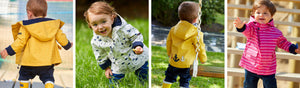Introducing Little Seafarer's Raincoats for Babies & Toddlers.