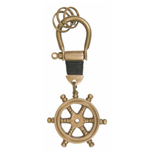 Key Ring - Ship's Wheel