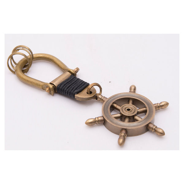 Batela Giftware-Key Ring-Key Ring - Ship's Wheel