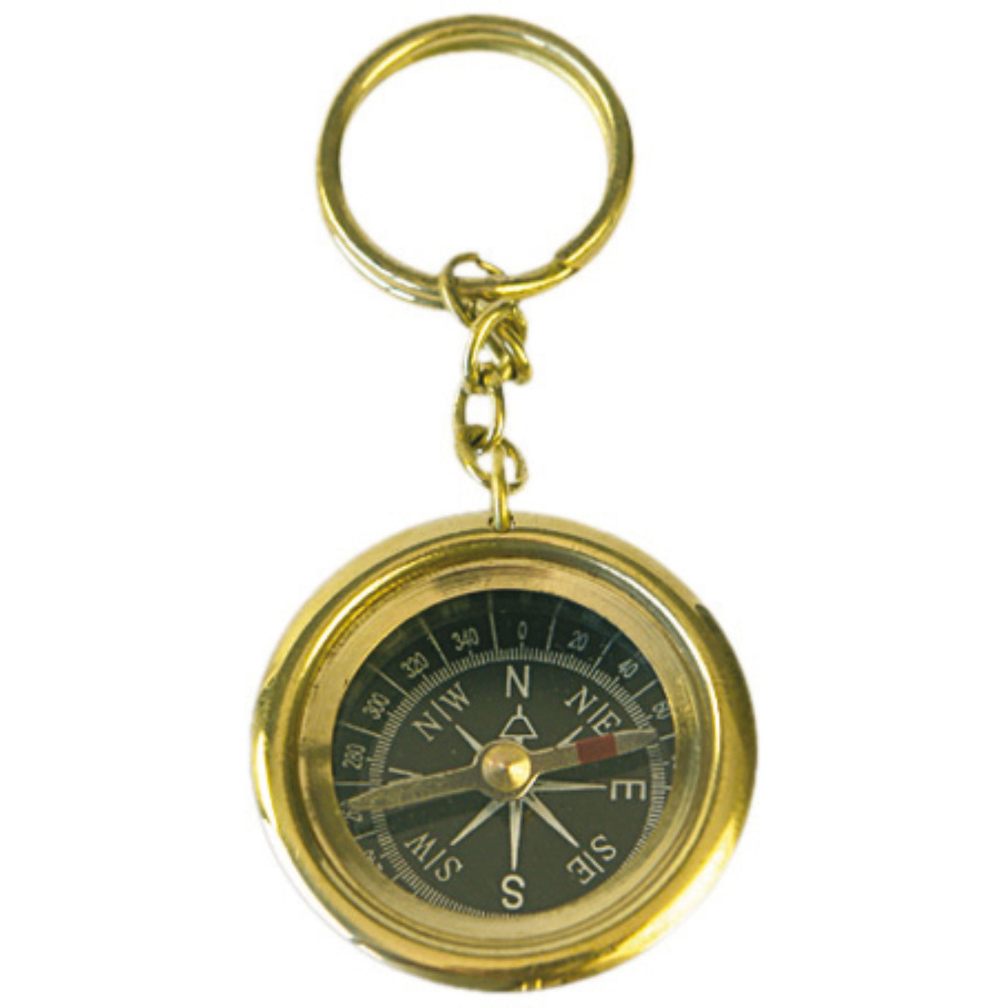 Batela Giftware-Key Ring-Key Ring with Compass