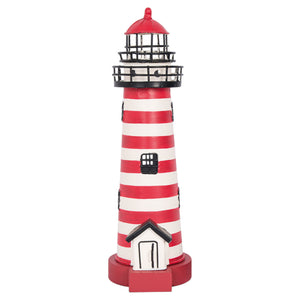 Electric Lighthouse in Red & White