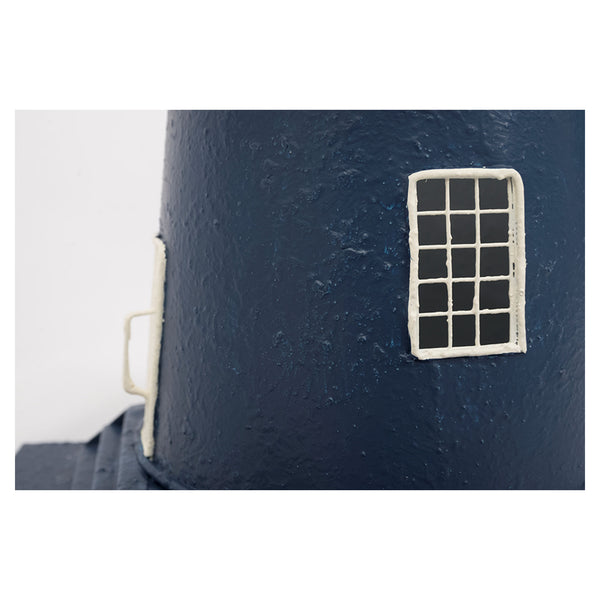 Batela Giftware-Lighthouses-Electric Lighthouse in Blue & White