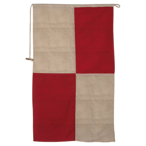 Vintage Nautical Flag- Letter U
