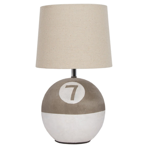 Buoy Table Lamp with Cement base
