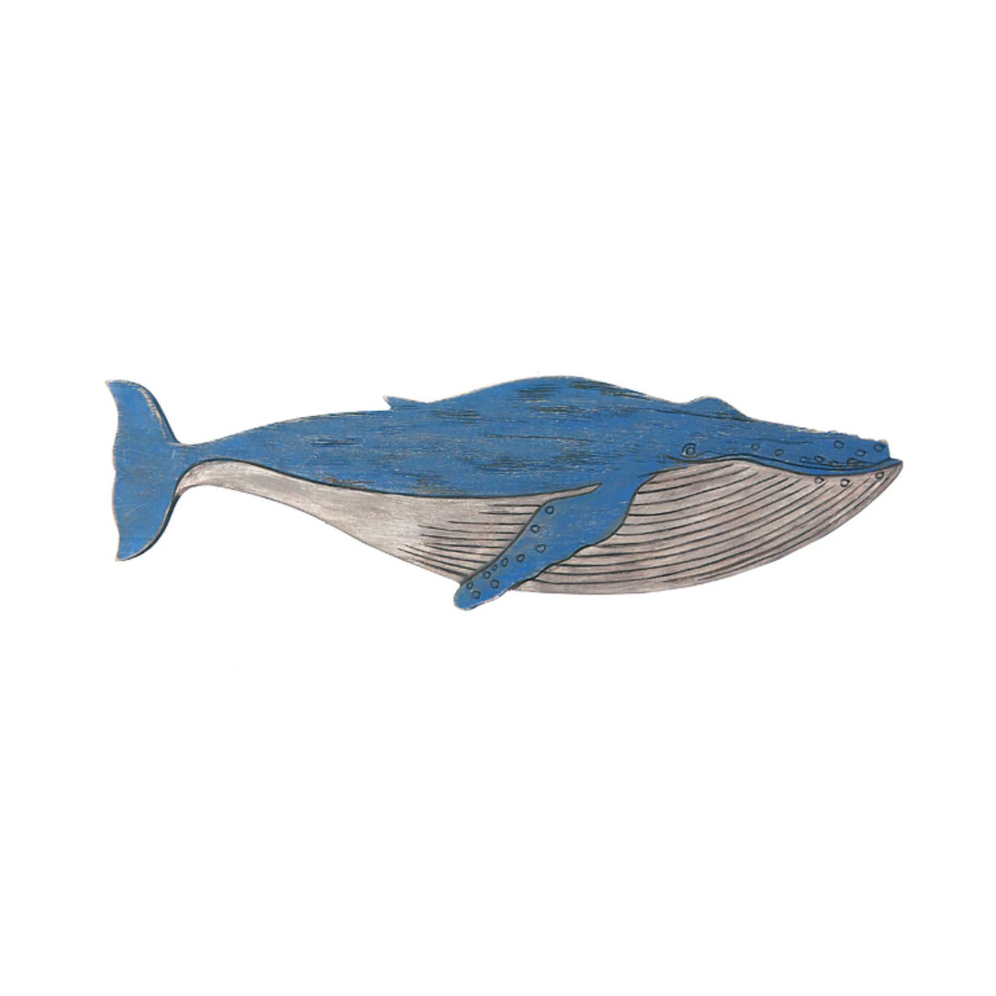 Batela Giftware-Marine Mammals-Large Wall Mounted Whale Ornament