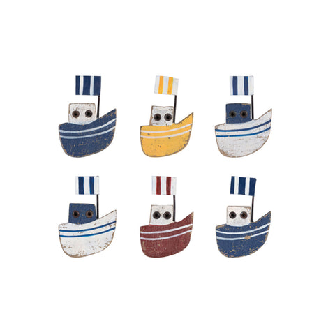 Batela Giftware-Home Decoration-Fridge Magnets- Boat