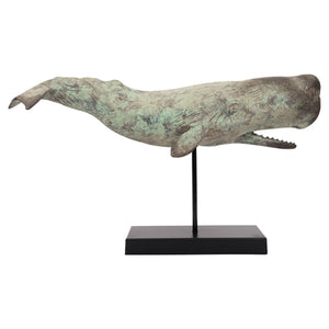 Batela Giftware-Marine Mammals-Sperm Whale With Base Ornament