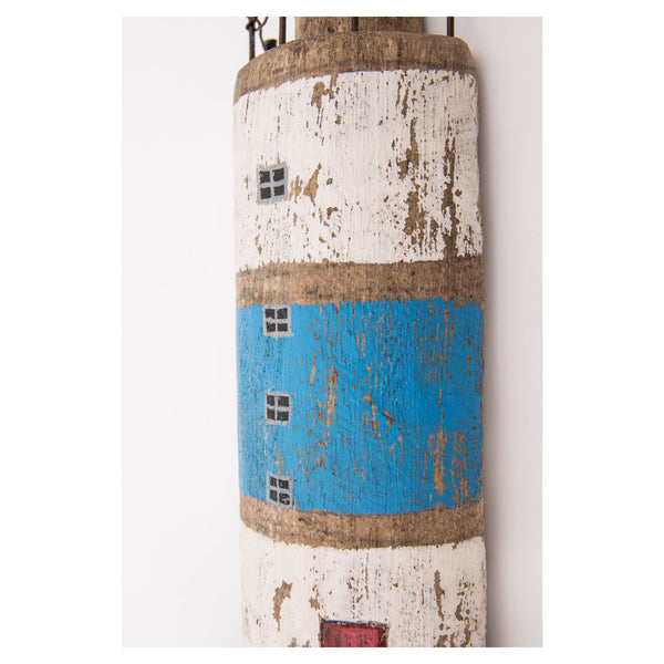 Batela Giftware-Ornaments-Driftwood Coat Hook Lighthouse