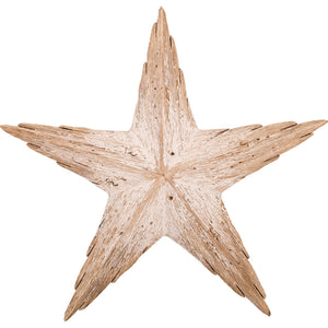 Large Driftwood Starfish Ornament
