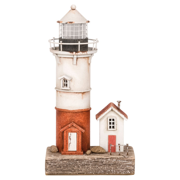LED Lighthouse with House