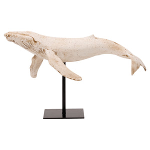 Sperm Whale on a Stand Ornament