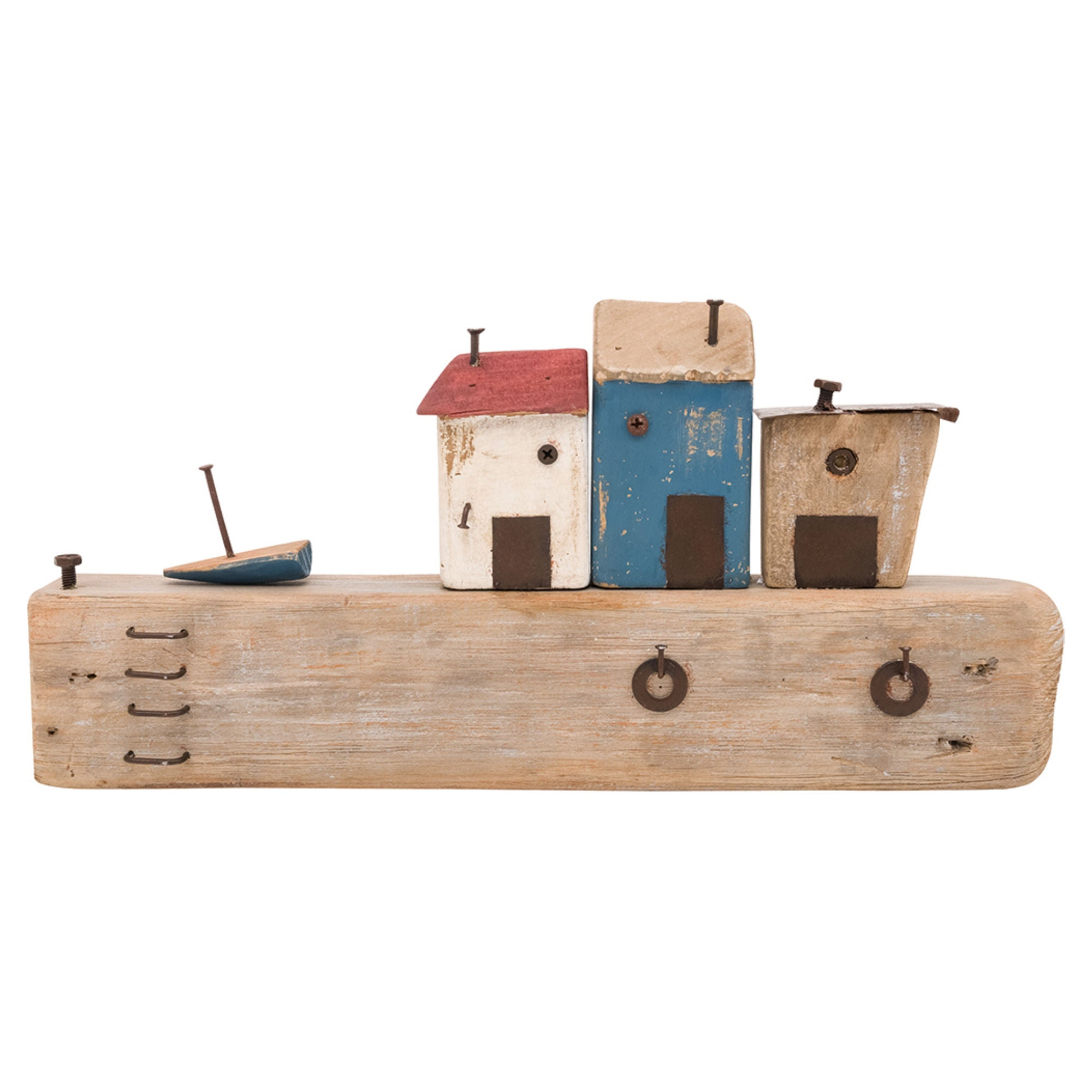 Batela Giftware-Key Ring-Driftwood Harbour Ornament and Key Ring Holder