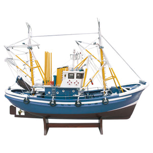 Tuna Fishing Boat II - Model Boat in Blue