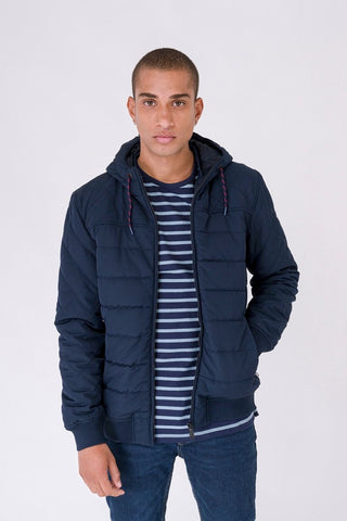 Padded Jacket - Navy