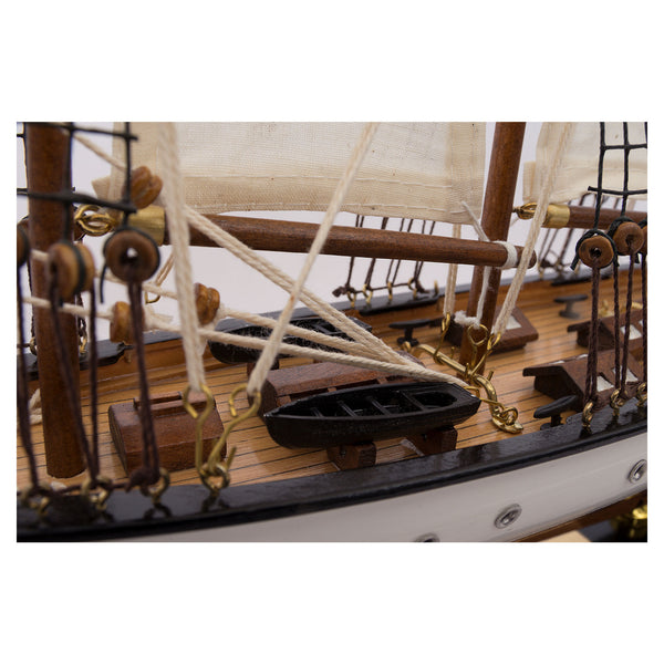 Sailing Ship With Triple Masts - Display Model Boat