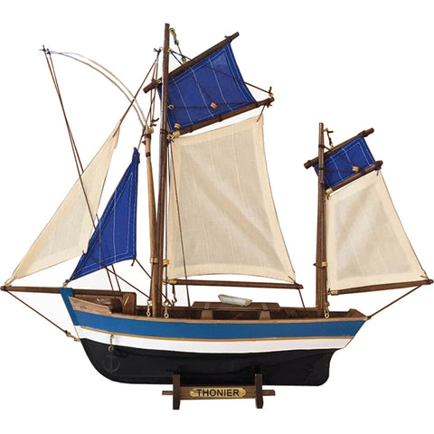 Batela Giftware-Sail Boats-Twin Masted Sailing Boat - Model Boat