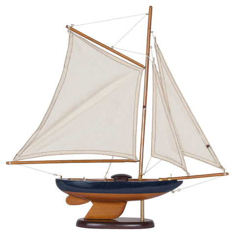 Batela Giftware-Sail Boats-Sailing Boat in Blue - Model Boat
