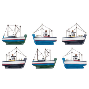 Batela Giftware-Home Decoration-Fridge Magnets- Fishing Boats