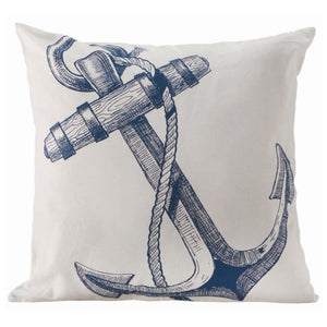 Ship's Anchor Cushion - by Batela