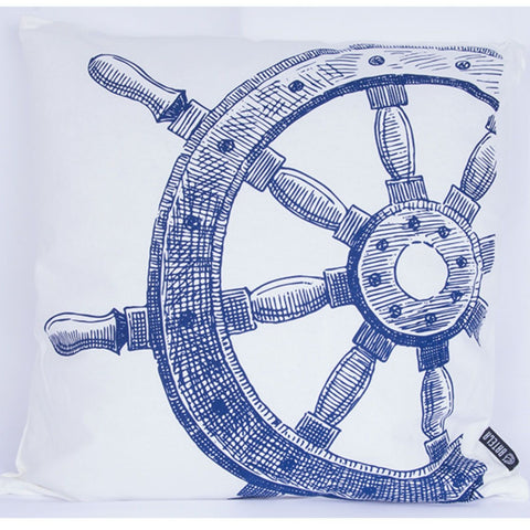 Ship's Wheel Cushion - by Batela