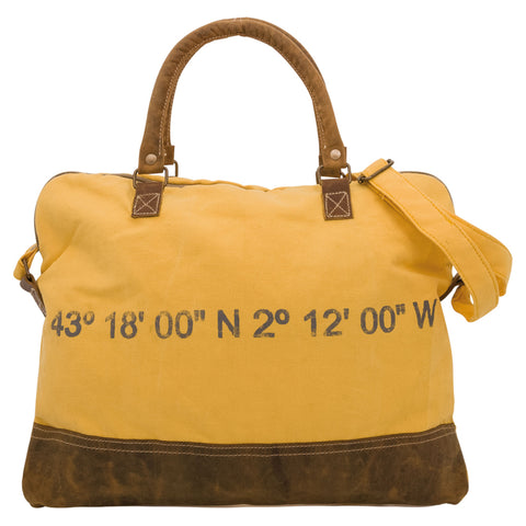 Coordinates Messenger Bag