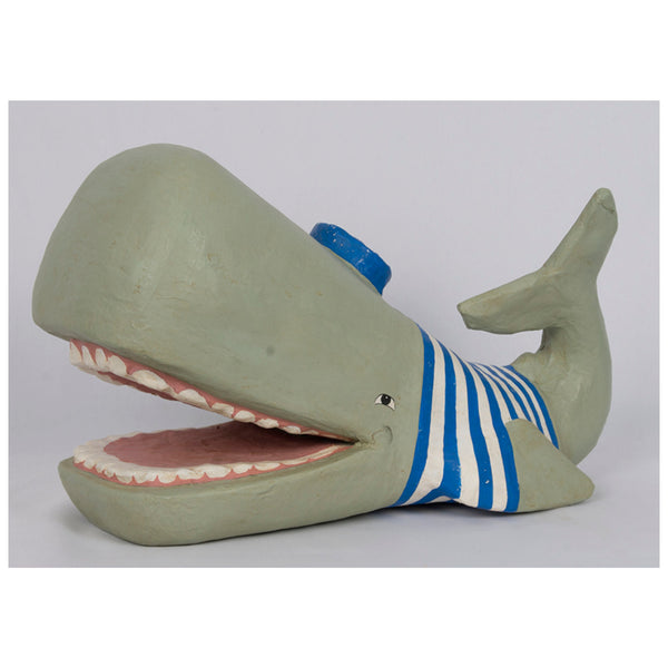 Whale in a T-Shirt Figurine