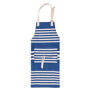 Apron with Nautical Stripes Design