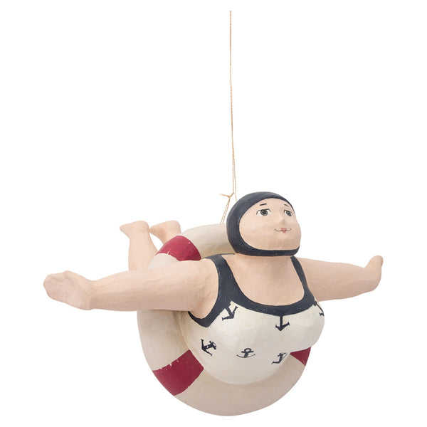 Batela Giftware-Figurines-Lady Swimmer with Rubber Ring