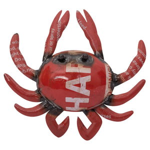 Batela Giftware-Ornaments-Metal Crab Ornament