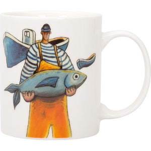 Batela Giftware-Mugs-Fisherman Mugs (Set of 4)