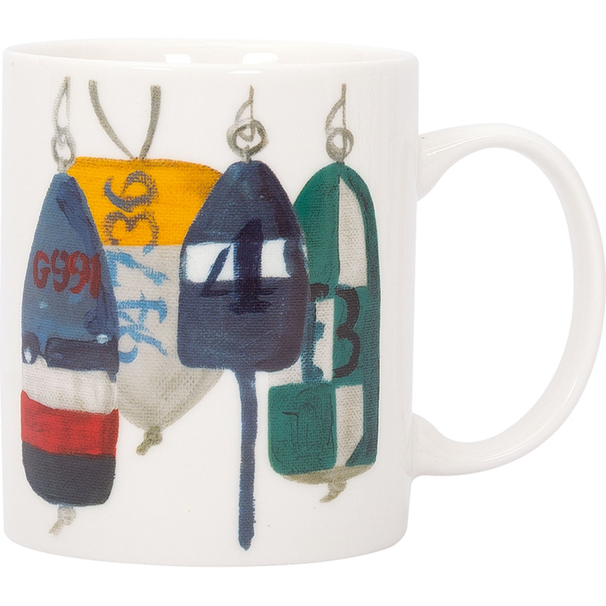 Batela Giftware-Mugs-Buoys Mugs (Set of 4)