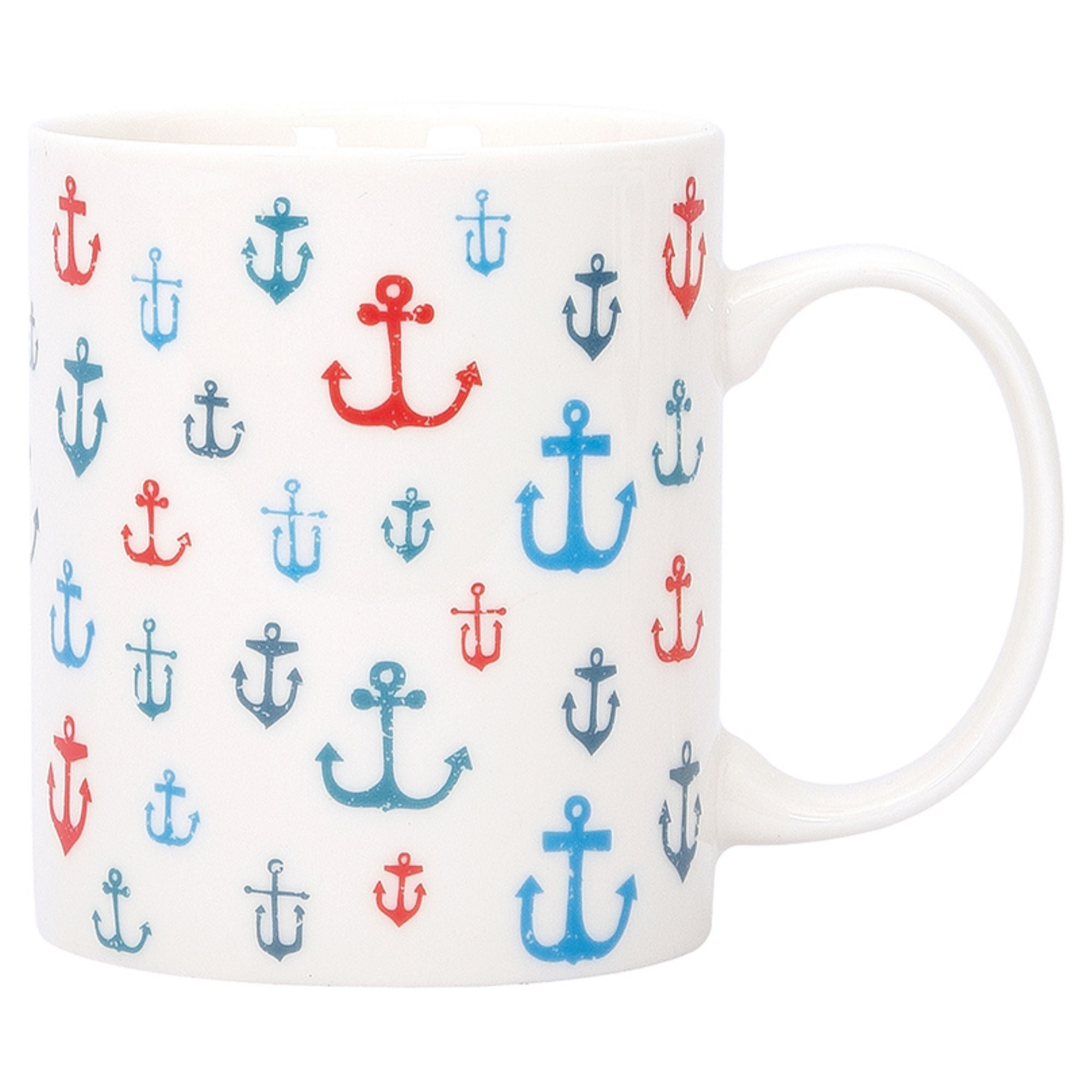 Batela Giftware-Mugs-Anchor Mugs (Set of 4)