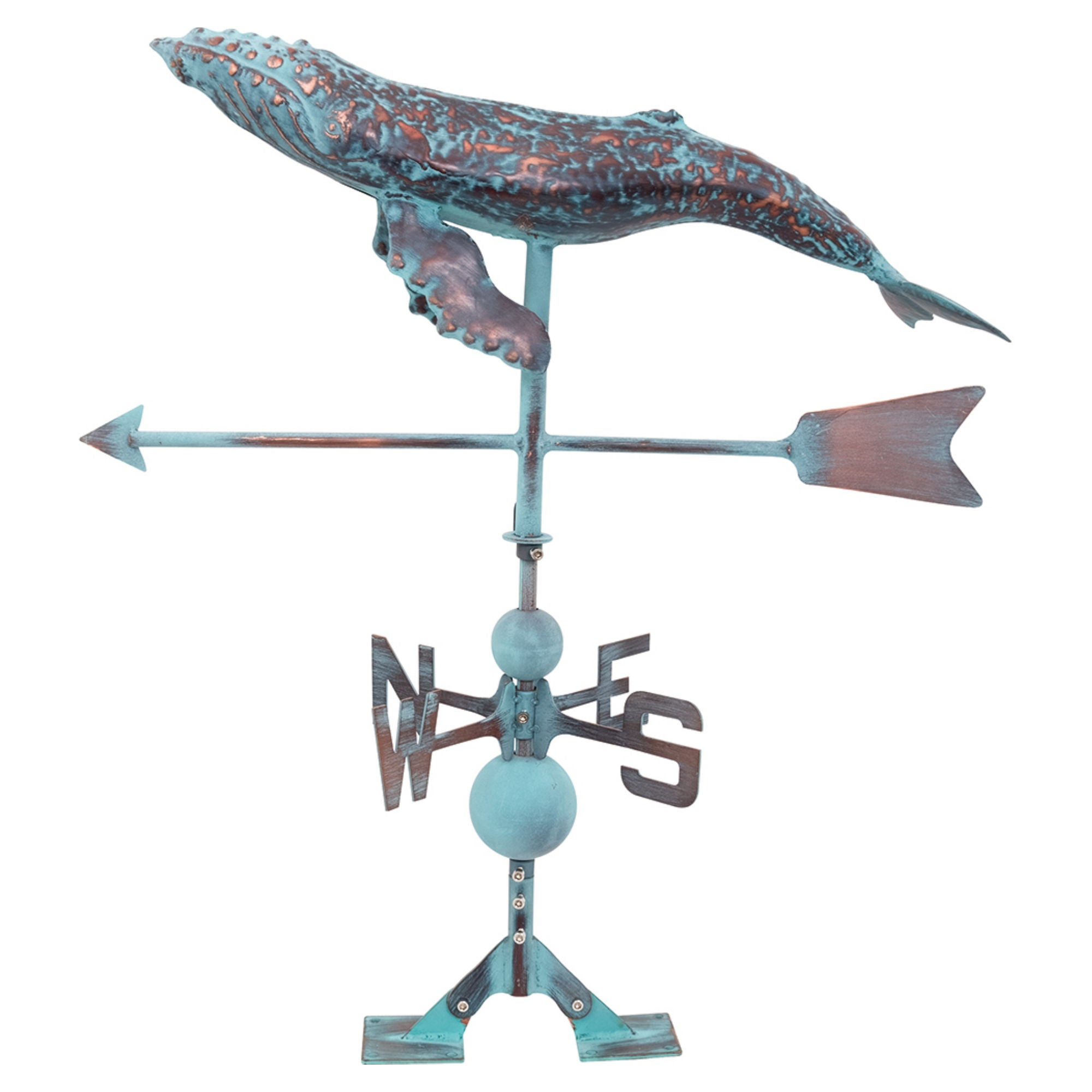 Batela Giftware-Weather Vane-Whale Weather Vane
