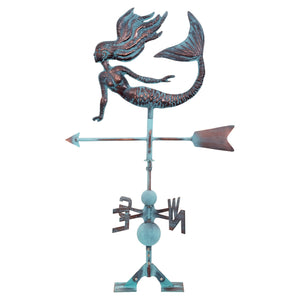 Batela Giftware-Weather Vane-Mermaid Weather Vane