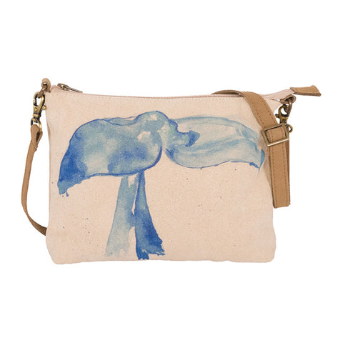 Canvas Hand Bag - Whale Tail Design