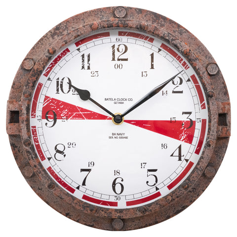 Batela Giftware-Clock-Ship's Telegraph Wall Clock
