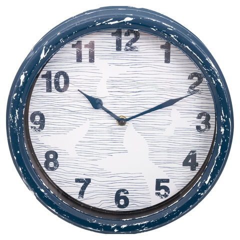 Batela Giftware-Clock-Wall Clock - Whale's Tail Design