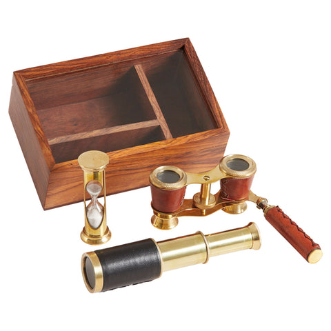 Mariners Gift Set in Wooden Box