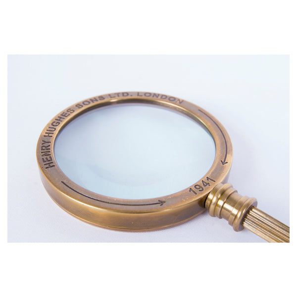 Batela Giftware-Desktop-Magnifying Glass with Brass Handle