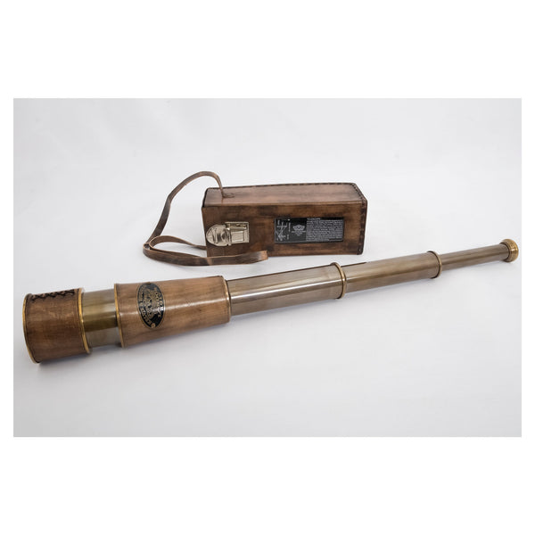 Batela Giftware-Nautical Office Decoration-Functioning Replica Telescope Set