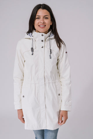 Nautical Raincoat - White
