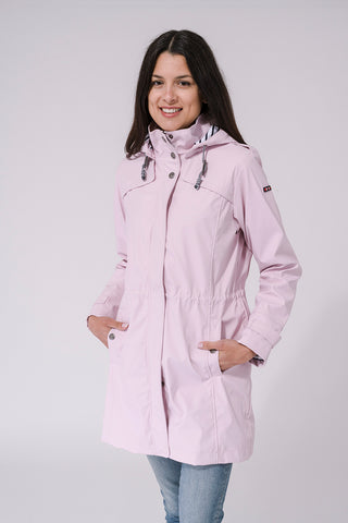 Nautical Raincoat - Rose Pink