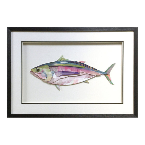 Framed Collage Picture of Tuna